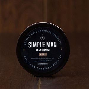 Picture of Simple Man Alibi Beard Balm 2 oz